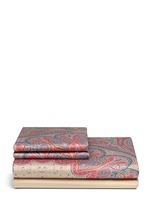 Chambord Fontevraud paisley print king size duvet set