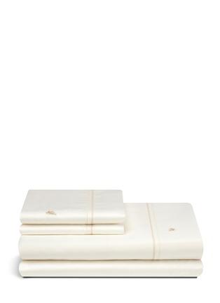Main View - Click To Enlarge - Etro - Lenzuola Dale double hem stitch king size duvet set