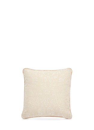 Main View - Click To Enlarge - Etro - Zanzibar Cayman paisley jacquard cushion