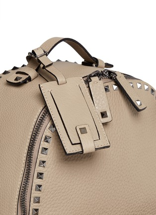 Detail View - Click To Enlarge - Valentino - Rockstud leather backpack