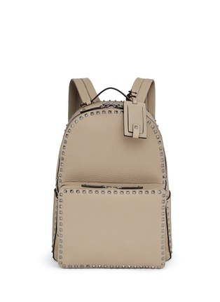 Main View - Click To Enlarge - Valentino - Rockstud leather backpack