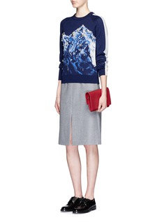 3.1 PHILLIP LIMMountain intarsia embellished wool sweater