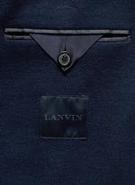 Notch lapel unlined blazer
