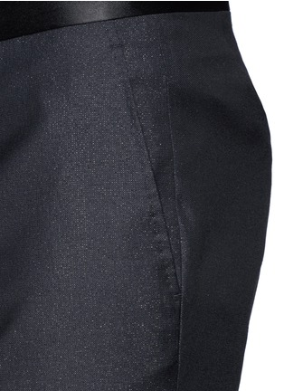 Detail View - Click To Enlarge - Lanvin - Shimmery wool-blend pants