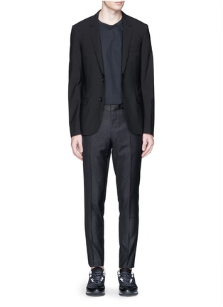 Figure View - Click To Enlarge - Lanvin - Shimmery wool-blend pants