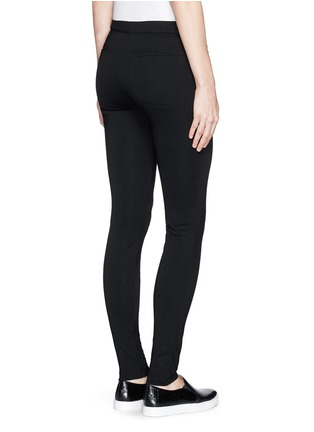 Back View - Click To Enlarge - Vince - 'Ponte' stretch knit skinny pants