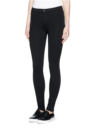 Front View - Click To Enlarge - Vince - 'Ponte' stretch knit skinny pants