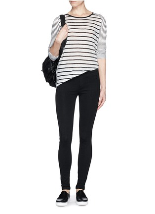 Figure View - Click To Enlarge - Vince - 'Ponte' stretch knit skinny pants