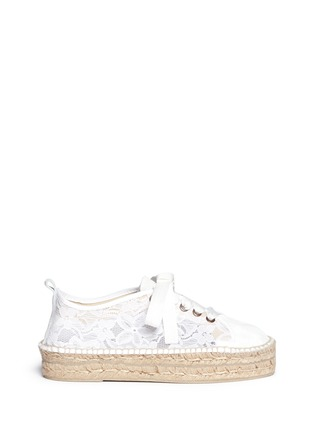 首图 - 点击放大 - MANEBÍ - 'Paris' lace espadrille sneakers