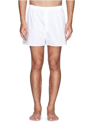Main View - Click To Enlarge - Sunspel - Cotton boxer shorts