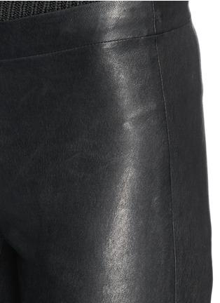 Detail View - Click To Enlarge - J Brand - 'Edita' leather leggings