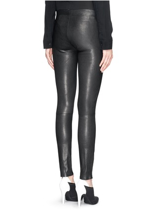 Back View - Click To Enlarge - J Brand - 'Edita' leather leggings