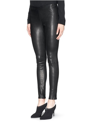 Front View - Click To Enlarge - J Brand - 'Edita' leather leggings