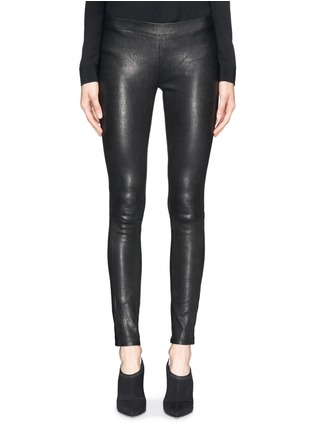 Main View - Click To Enlarge - J Brand - 'Edita' leather leggings