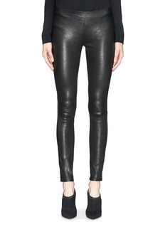 J BRAND Classic patent leather effect leggings