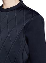 Quilt sweatshirt
