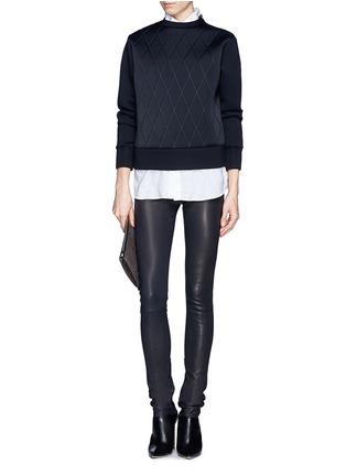 NEIL BARRETT-Quilt sweatshirt