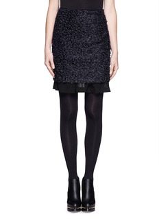 TOGA ARCHIVES Mohair layer skirt