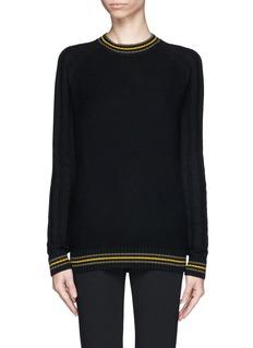 JASON WUTextured knit cashmere sweater