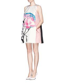 PRABAL GURUNGColourblock floral shift dress