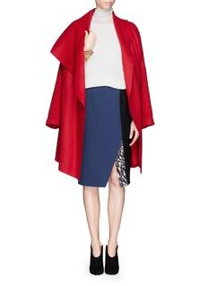 PETER PILOTTO'Kyra' colourblock wool skirt