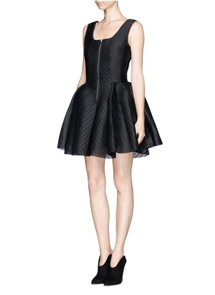 MAJE - 'Gulliver' mesh pouf dress