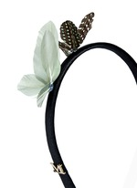 Feather butterfly headband