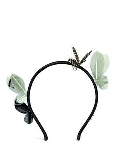 MAISON MICHELFeather butterfly headband