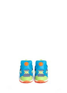 Reebok 'Versa Pump Fury' colourblock mesh toddler sneakers