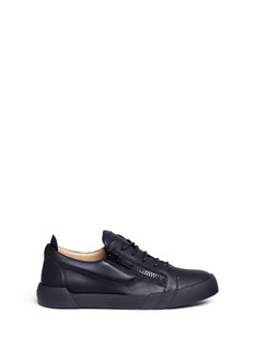 Giuseppe Zanotti Design 'Foxy London' double zip leather sneakers