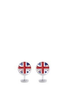 Tateossian Rotating Union Jack cufflinks