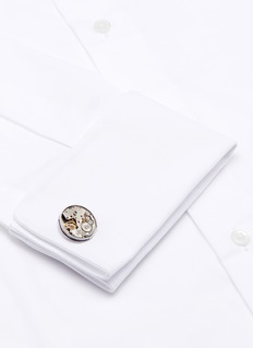 Tateossian Vintage skeleton gear cufflinks