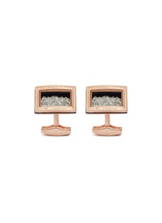 TateossianDiamond dust cufflinks