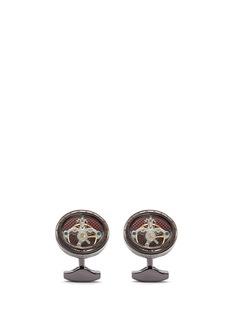 TATEOSSIAN搪瓷齿轮袖扣