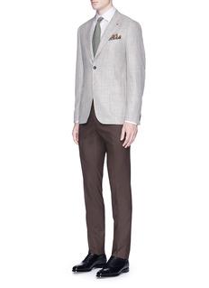ISAIA'Cortina' wool blend soft blazer