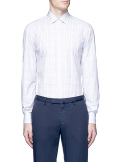 ISAIA'Parma' check plaid shirt