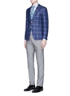 ISAIA'Milano' check plaid shirt