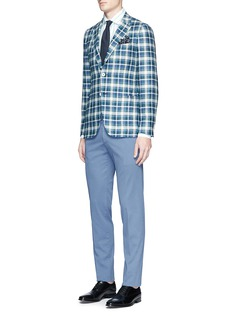 ISAIA 'Milano' stripe cotton shirt