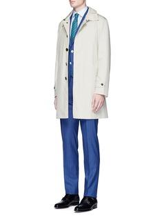 ISAIA'Cortina' pinstripe wool suit