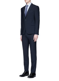 Armani Collezioni'Metropolitan' virgin wool hopsack suit