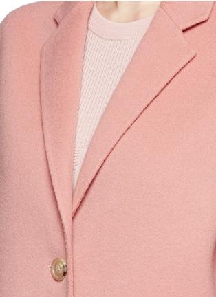 Detail View - Click To Enlarge - Acne Studios - 'Avalon Doublé' wool-cashmere long coat