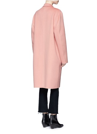Back View - Click To Enlarge - Acne Studios - 'Avalon Doublé' wool-cashmere long coat
