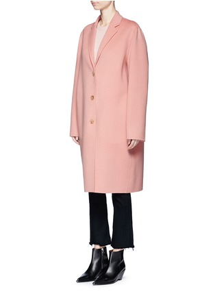 Front View - Click To Enlarge - Acne Studios - 'Avalon Doublé' wool-cashmere long coat