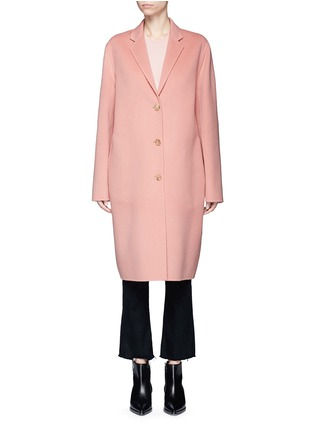 Main View - Click To Enlarge - Acne Studios - 'Avalon Doublé' wool-cashmere long coat