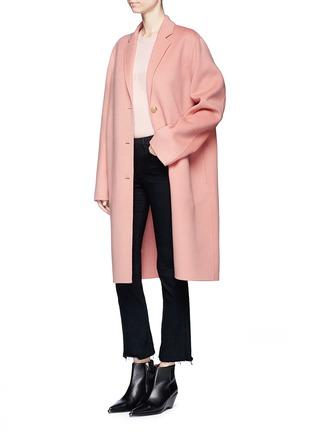Figure View - Click To Enlarge - Acne Studios - 'Avalon Doublé' wool-cashmere long coat