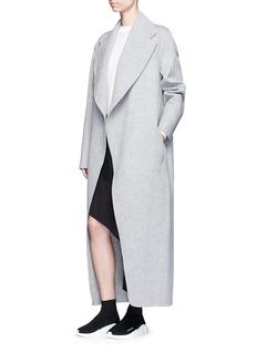 Acne Studios 'Lova' belted long wool-cashmere felt coat