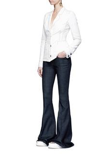 Stella McCartneyContrast stitching jacket