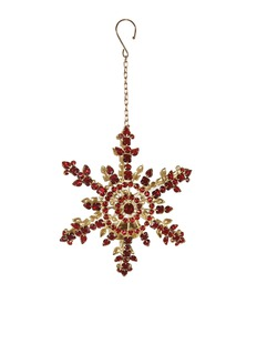 Shishi AsJewel snowflake tealight holder