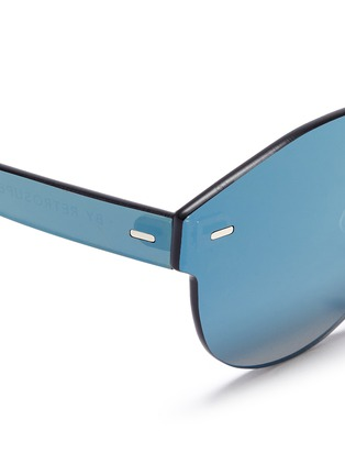 Detail View - Click To Enlarge - SUPER - 'Tuttolente Paloma' rimless all lens mirror sunglasses