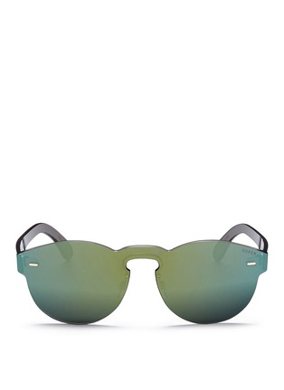 Main View - Click To Enlarge - SUPER - 'Tuttolente Paloma' rimless all lens mirror sunglasses